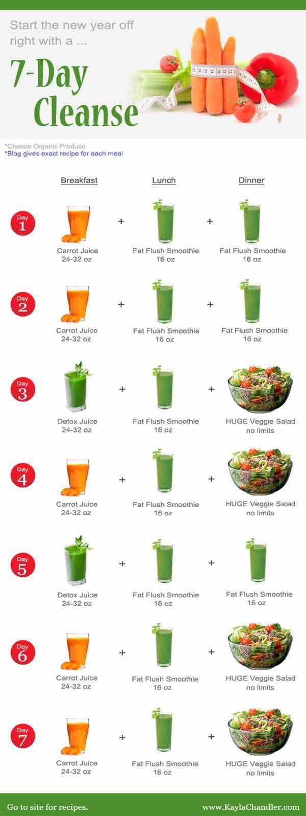 Juicing Recipes For Detoxing And Weight Loss Modwedding