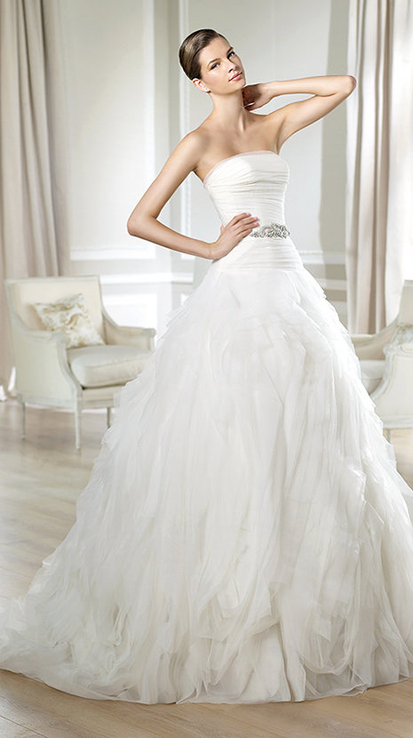 Stunning Wedding Dresses From Barcelona White One Gowns Offer Truly Inspired Styling Sumptuous Fabrics And Great Detailing See Complete Collection Below