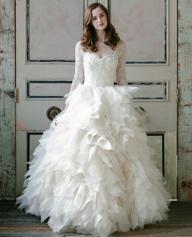 Wedding Gowns For 2015: Sareh Nouri Wedding Dresses Spring 2015 Collection