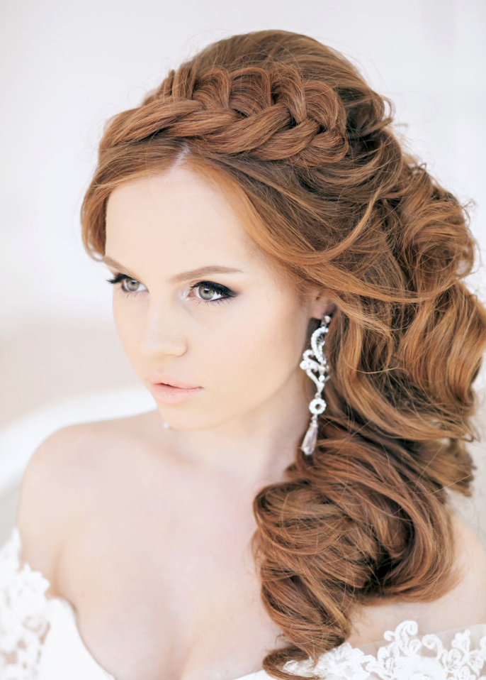 New Stunning Wedding Hairstyle Inspiration From Elstile