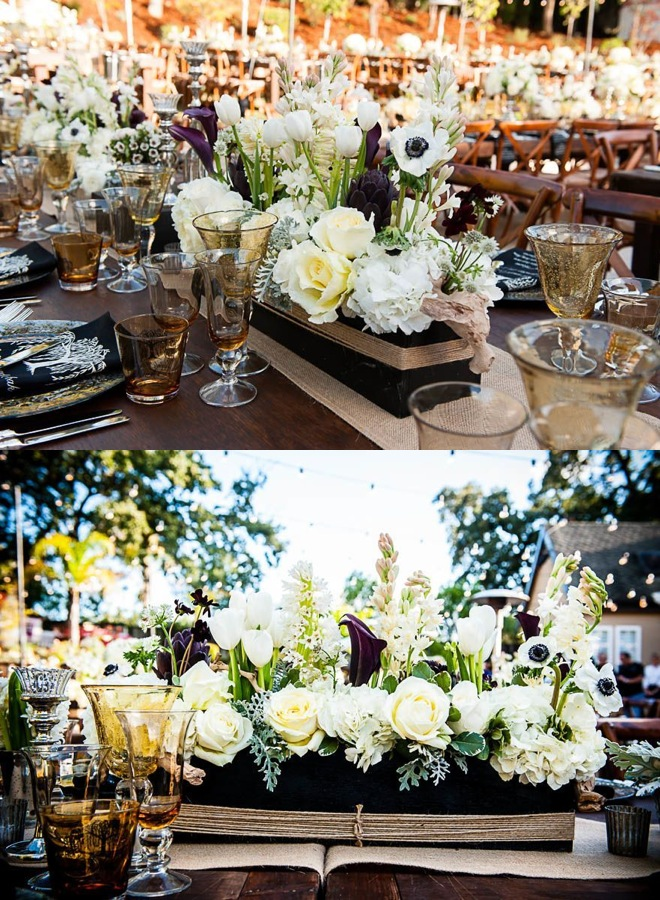An Chic Outdoor Wedding From Arrowood Photography Modwedding