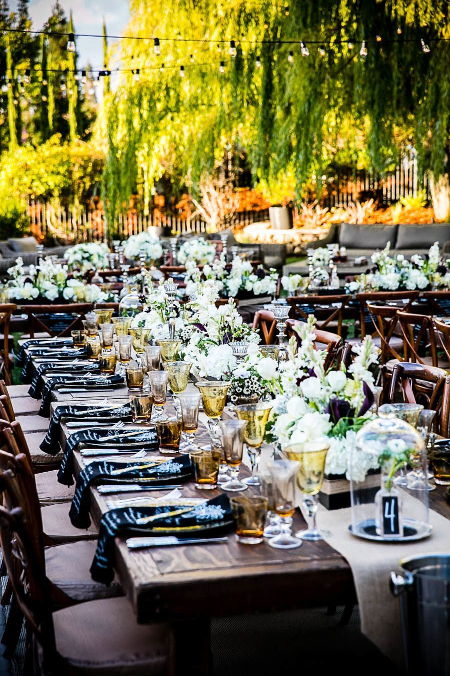 An Outdoor Wedding With Modern Elegance From Arrowood