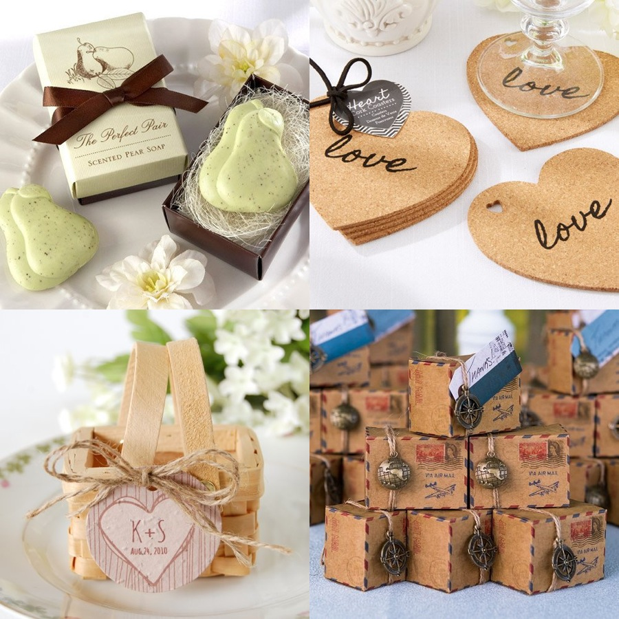 Wedding Party Favor Ideas: Creative Wedding Favors