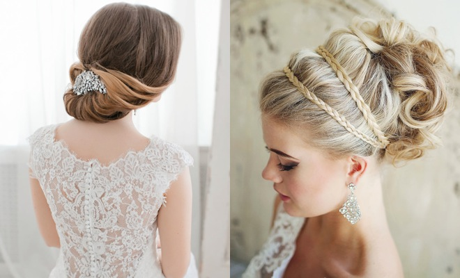Effortlessly Chic Wedding Hairstyle Inspiration Modwedding