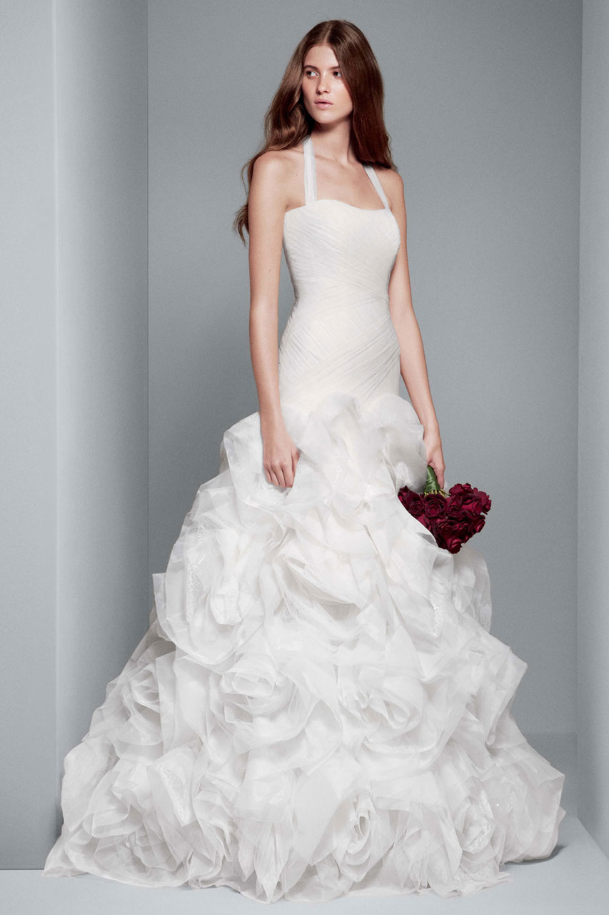 White by Vera Wang Wedding Dresses Exclusively at David s Bridal ... 6434b9a83