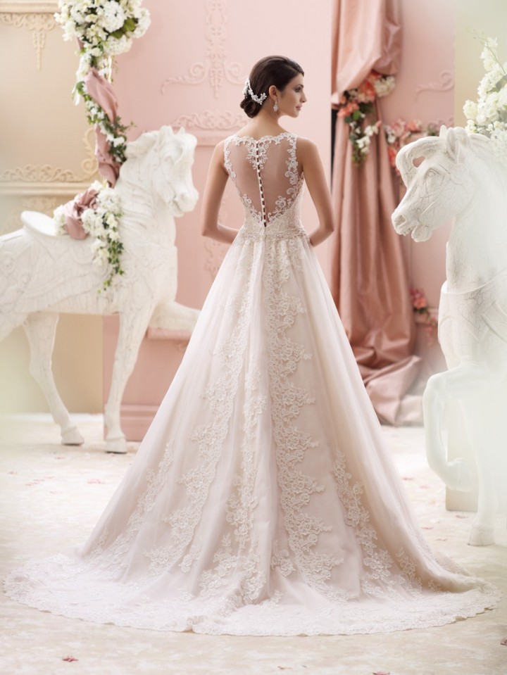 e919388717375 David Tutera Wedding Dresses 2015 Collection - MODwedding