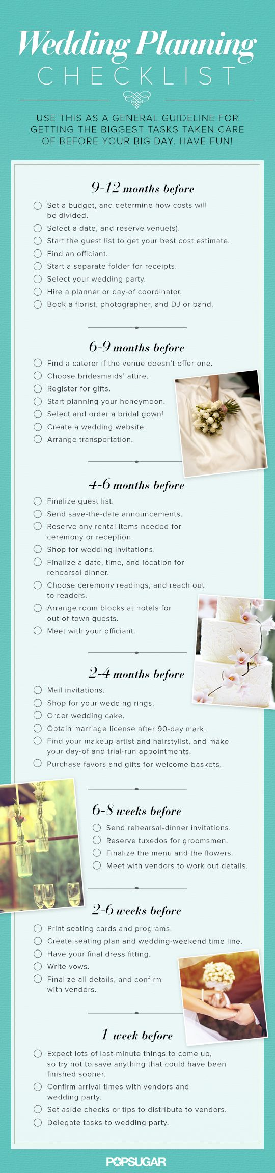 Top 5 Wedding Planning Checklists To Keep You On Track