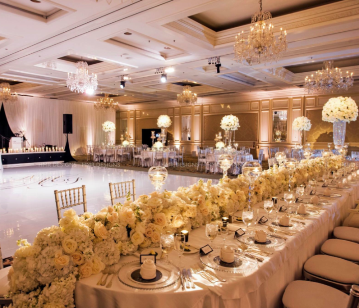Evening Wedding Reception Decoration Ideas