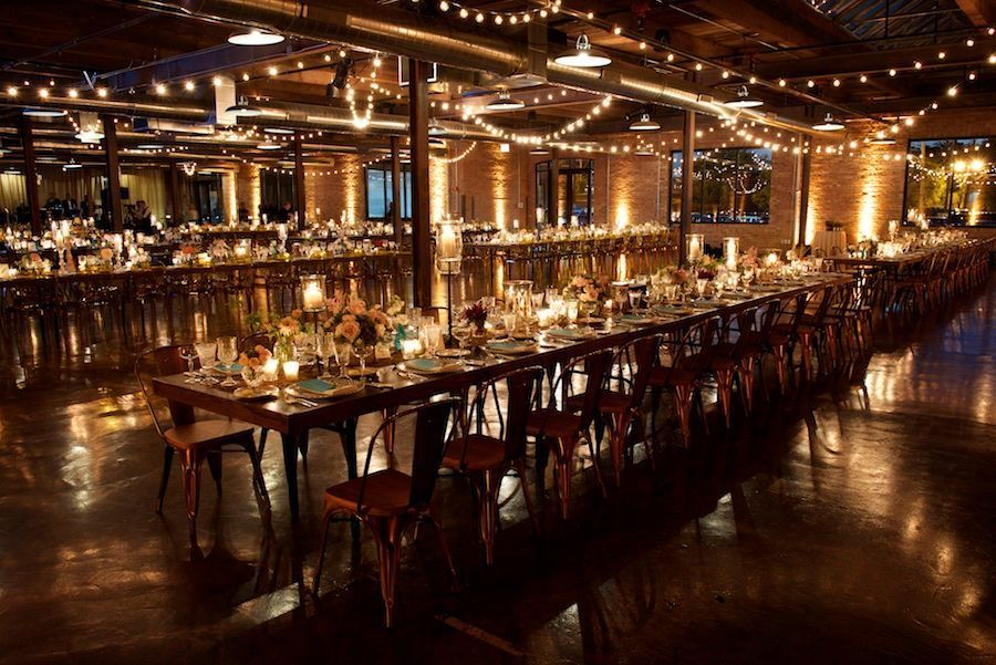 Intimate Chicago Wedding A Rustic Romance At Morgan Manufacturing Modwedding