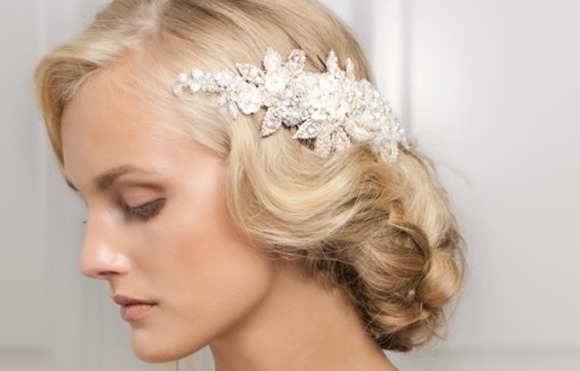 15 Wedding Hairstyles With Exquisite Headpieces By Jannie