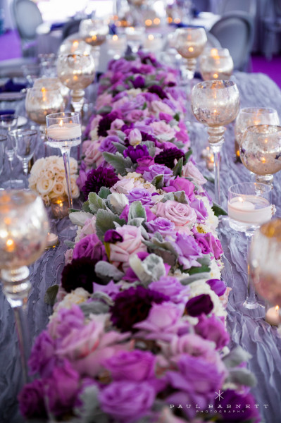 lavender wedding table decorations wedding ideas gorgeous table runner centerpiece designs 5425