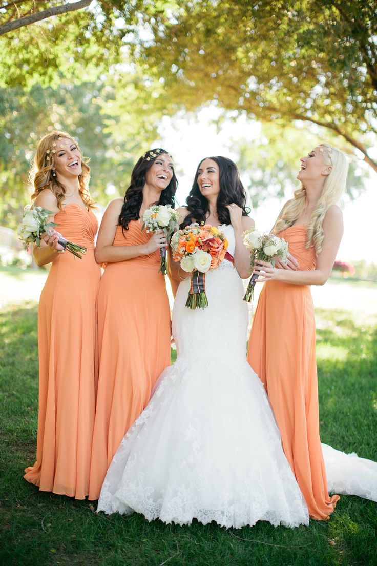 We are Totally Crushing on These Orange Wedding Ideas ...