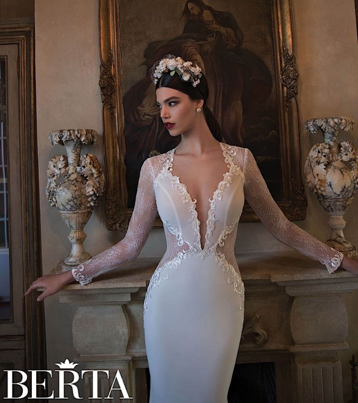 20 Aisle Perfect Wedding Gowns From Berta Bridal 2016: Elegantly Sexy Berta Wedding Dresses 2015