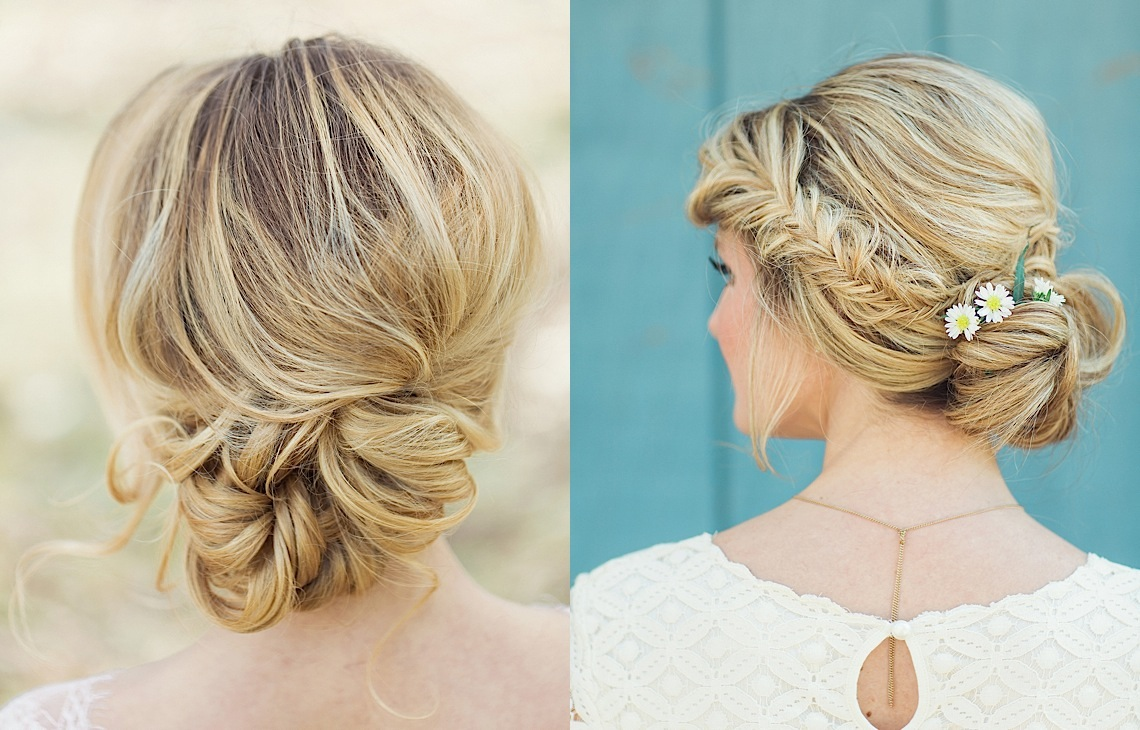 Flower Power: Classic Floral Wedding Hairstyles By Jackie