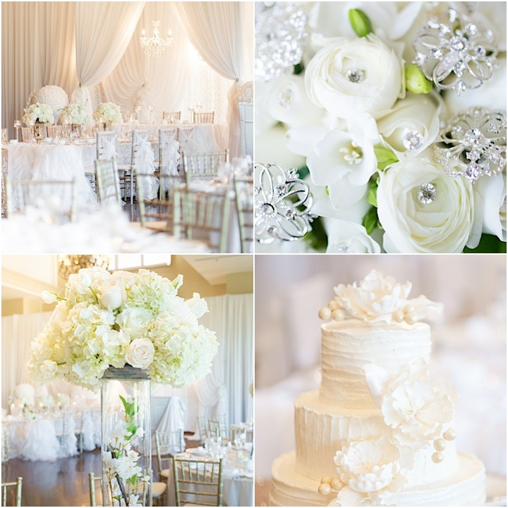Wedding Venues White River: Stunning All-White Ontario Wedding Reception At Deer Creek