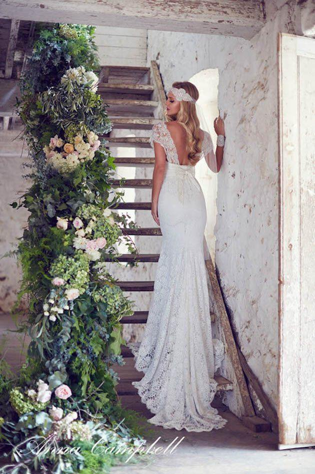 Wedding Ideas 19 Beautiful Ways To Decorate Your Staircase Modwedding