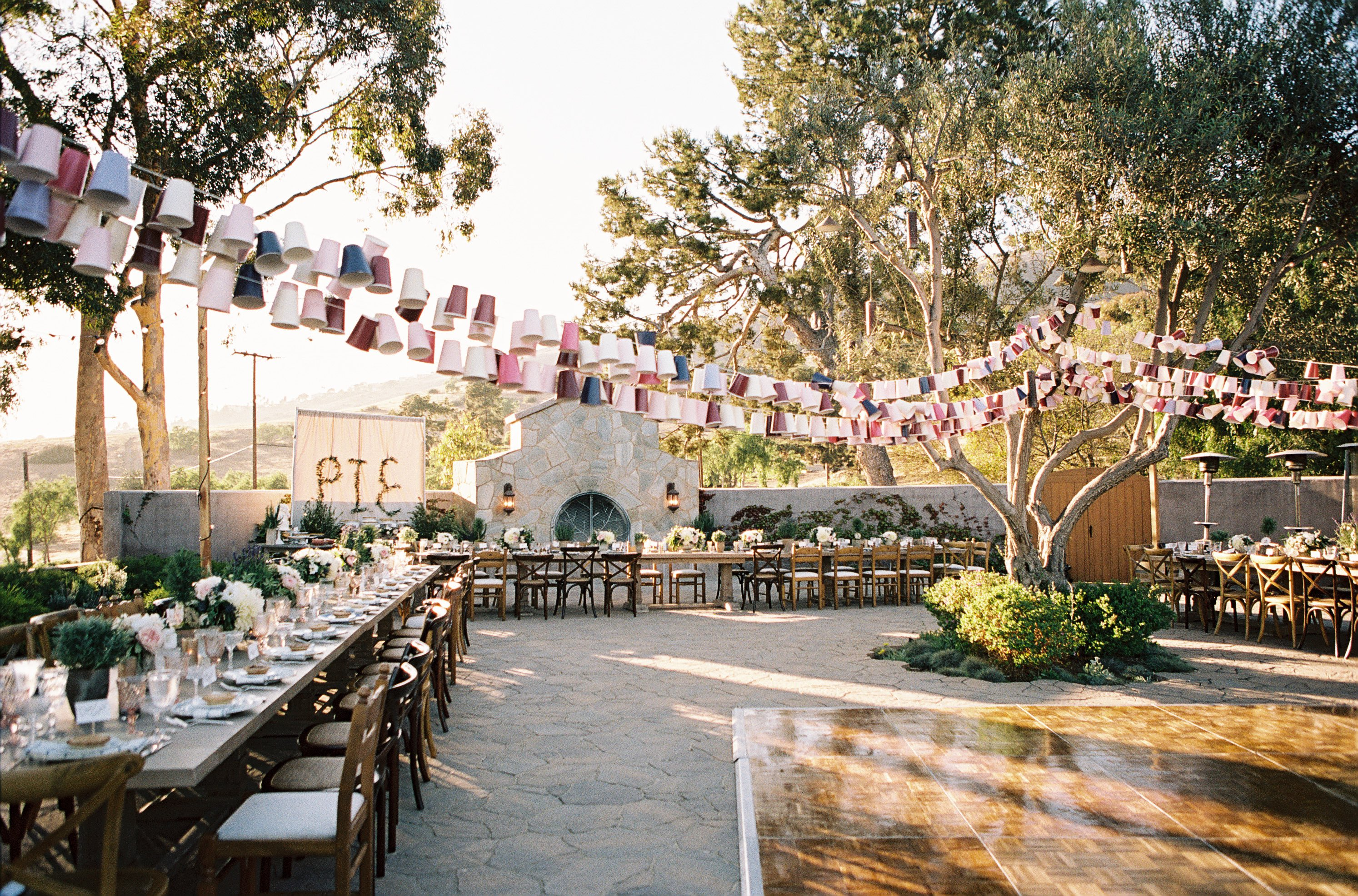 Unique Rustic California Wedding At Catalina View Gardens