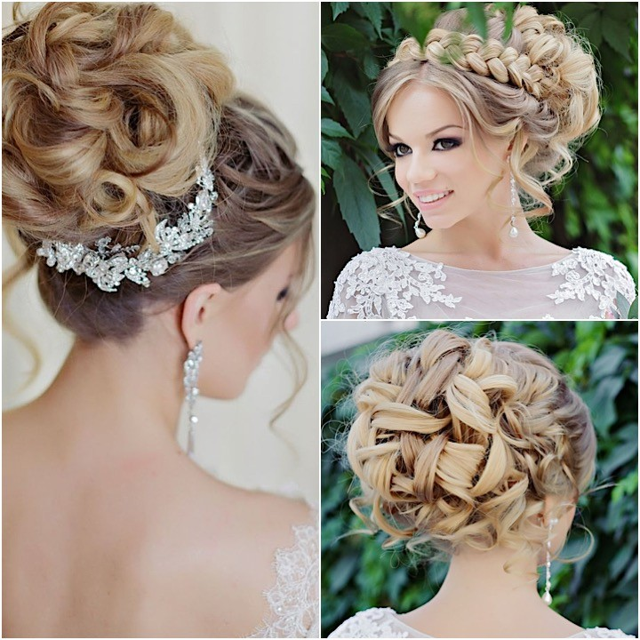 Glamorous Wedding Hairstyles With Elegance Modwedding