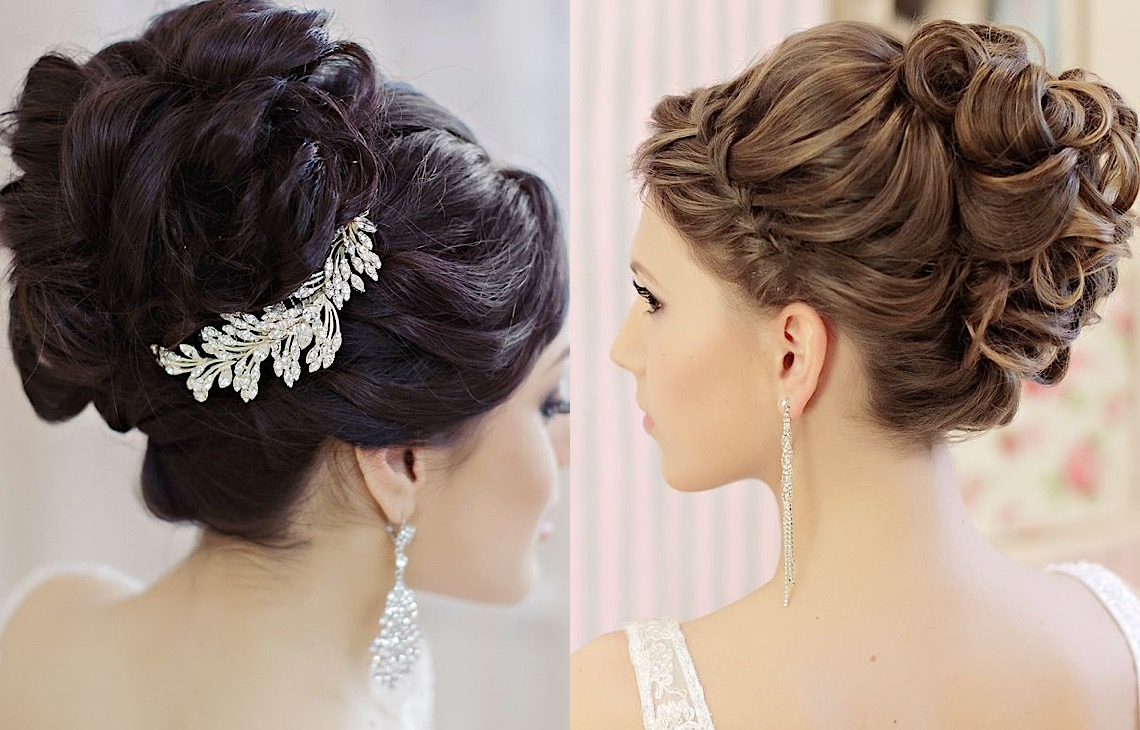 Elegant Updos And More Beautiful Wedding Hairstyles Modwedding