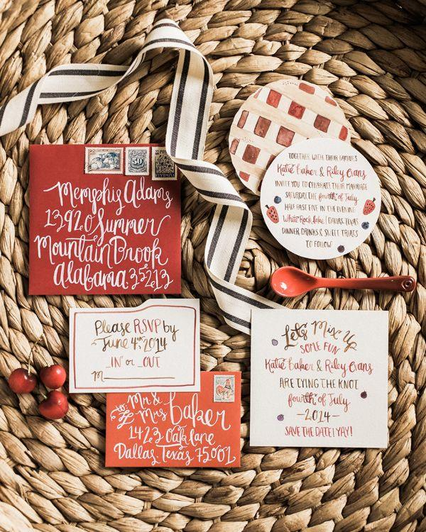 July 4th Wedding Ideas