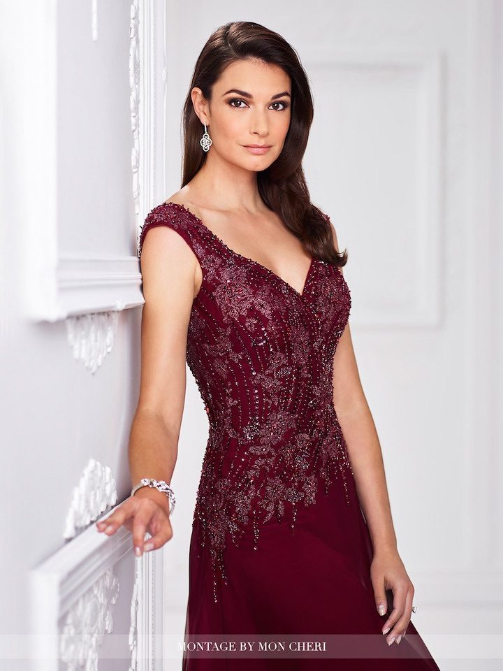 Beautiful Mother of the Bride, Special Occasion and Formal Evening Dresses by Ivonne Dome