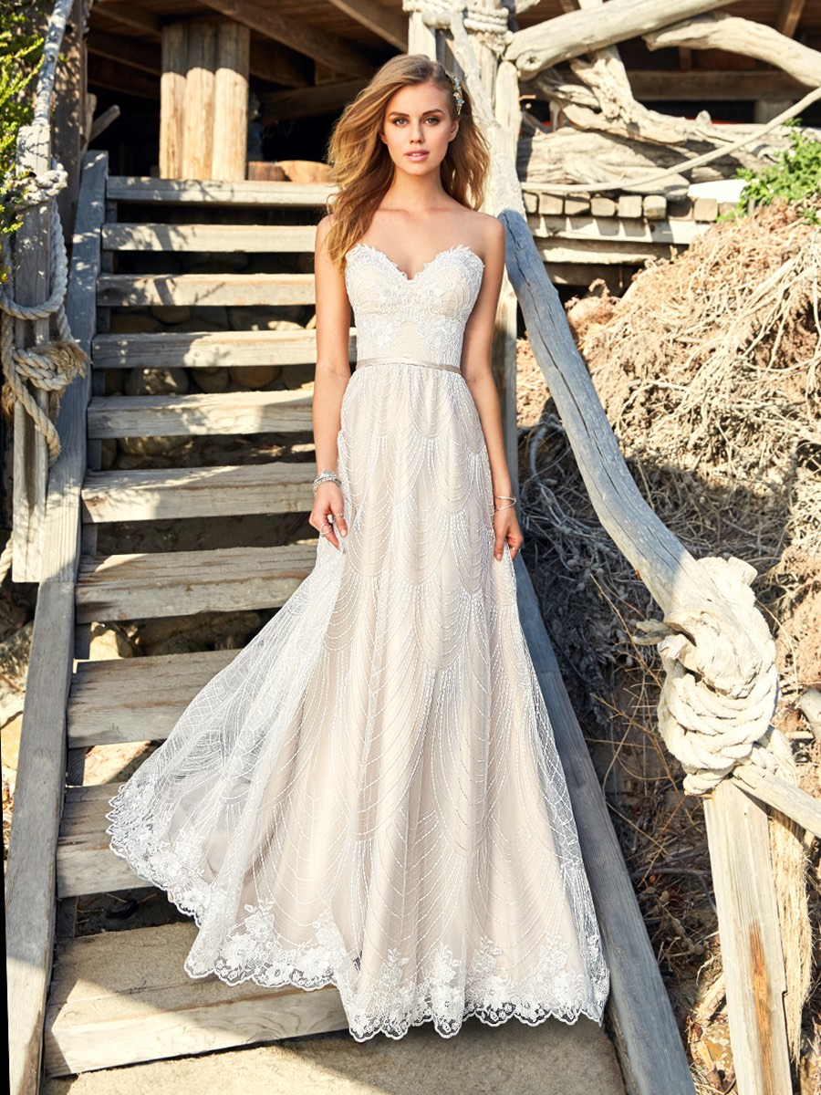 Romantic Boho Wedding Dresses From The Simply Val Stefani Collection