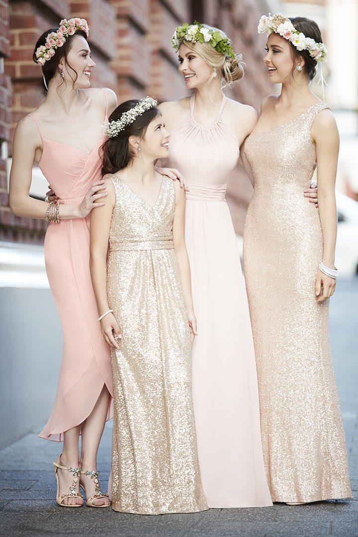 cd4f3887e2dd Trendsetting Sorella Vita Bridesmaid Dresses for the Girls - MODwedding