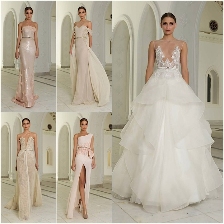1225ba5fa545 Colorful Wedding Dress Ideas from Abed Mahfouz