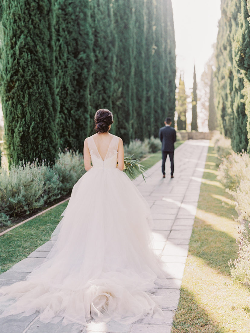 Picture Perfect Outdoor Beverly Hills Wedding At Greystone