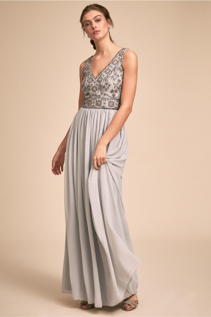 a18a768a97d Elegantly Chic BHLDN Bridesmaids Dresses for Spring  A Color Story ...