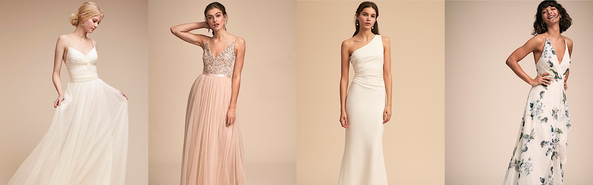 5bbd669aaa2 Elegantly Chic BHLDN Bridesmaids Dresses that Can Be Worn as Wedding Gowns