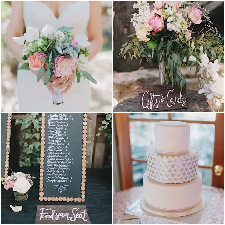 Calamigos Ranch Wedding: Sweet Pink Calamigos Ranch Wedding