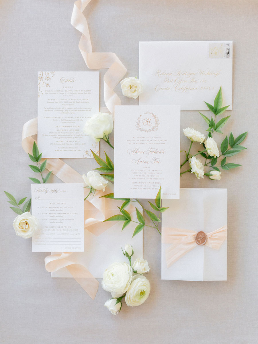Romantic Getaway California Wedding With Gorgeous Cherry Blossom Branches
