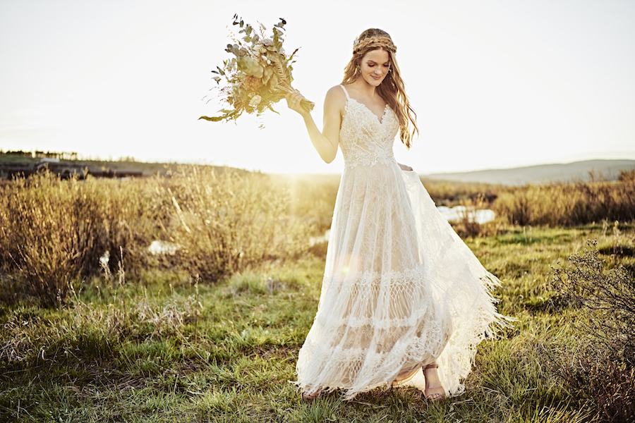 Bohemian Chic Wedding Dresses for 2020: All Who Wander Collection
