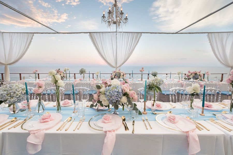 Peachy Glamorous Blue And Pink Destination Wedding In Thailand Download Free Architecture Designs Scobabritishbridgeorg