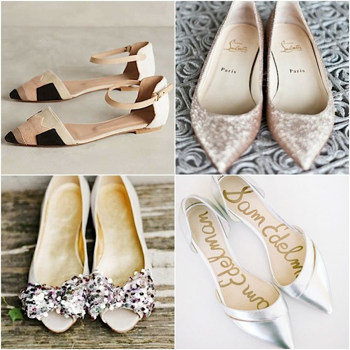 online store pretty cool sold worldwide Flat Wedding Shoes for Stylish Comfort