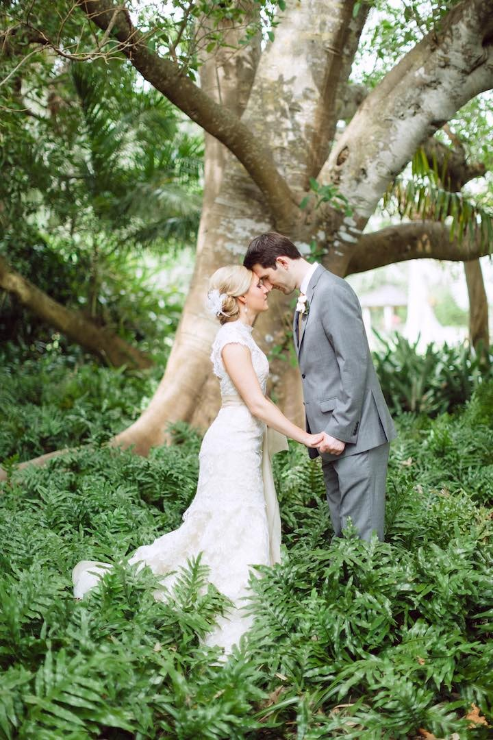 Marie Selby Botanical Garden Wedding Photography - Sarasota Florida Destination Wedding Photographer - www.hunterryanphoto.com