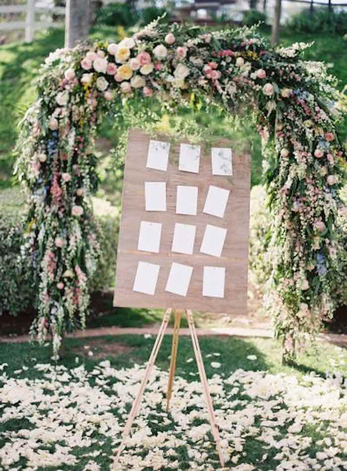 Elegant Garden Wedding Ceremony Ideas