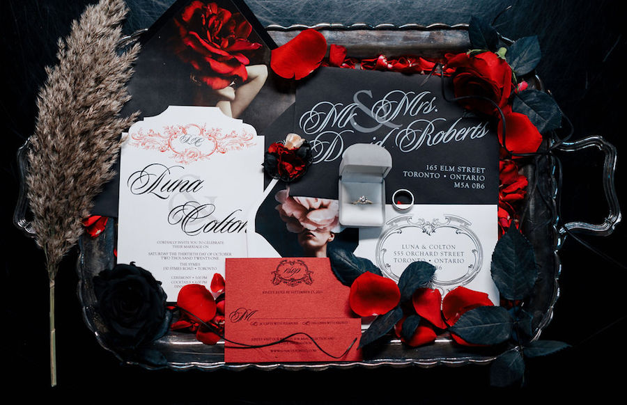 This Gothic Moody Romance is the Perfect Halloween Wedding Inspiration