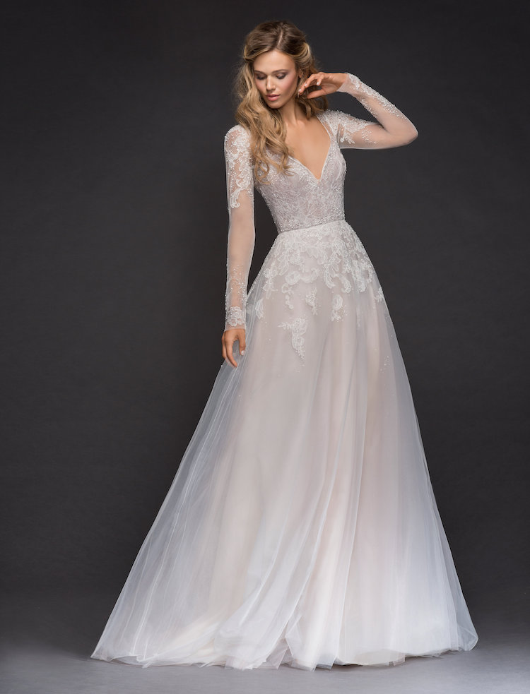 ab35c6511378 Drop-dead Gorgeous Spring 2018 Hayley Paige Wedding Dresses