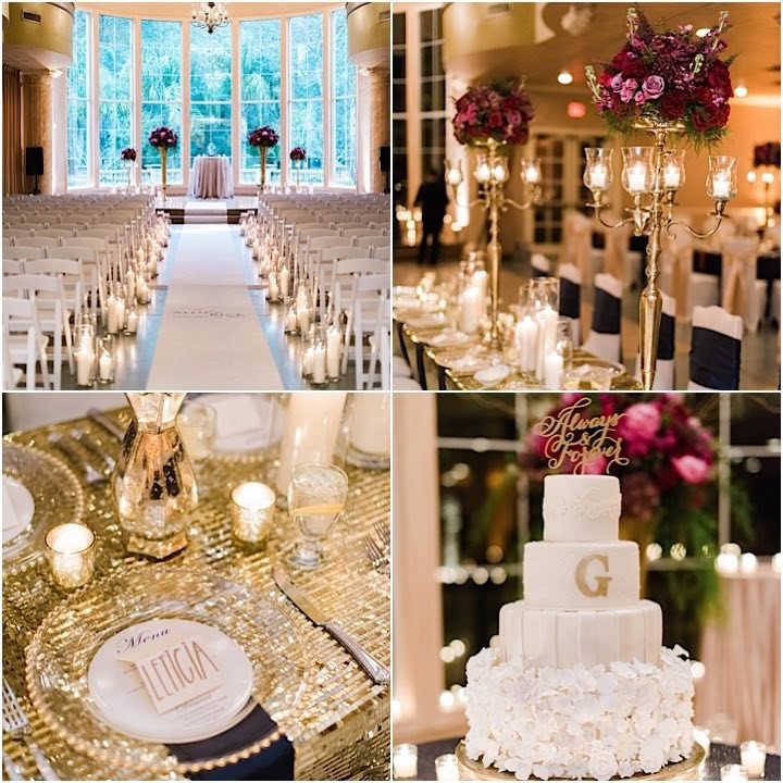 26ceeaf9596c Glam Houston Wedding at Chateau Polonez - MODwedding