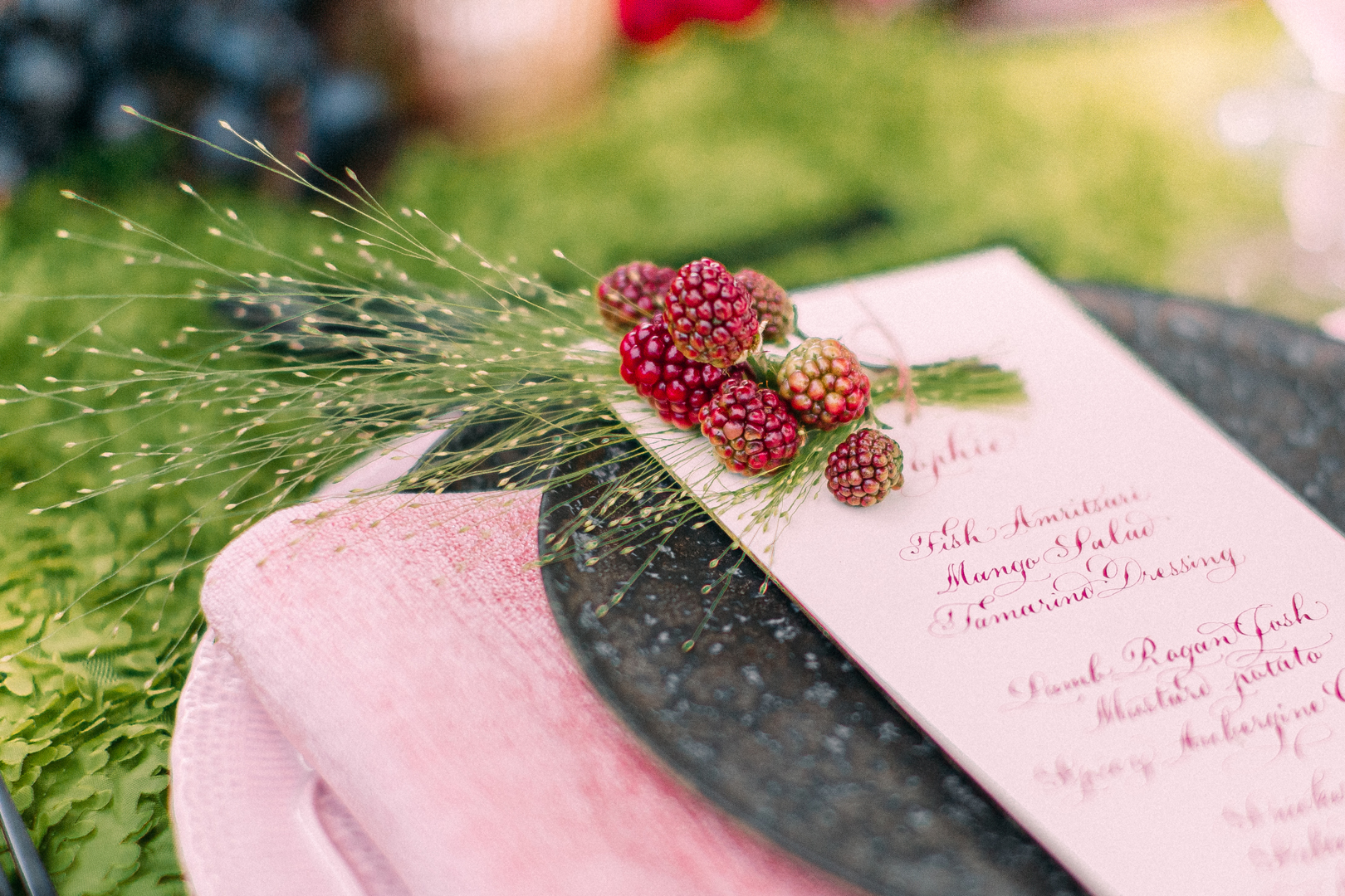 A Stunning Red Floral Intimate-Turned-Luxury Wedding Inspiration Shoot