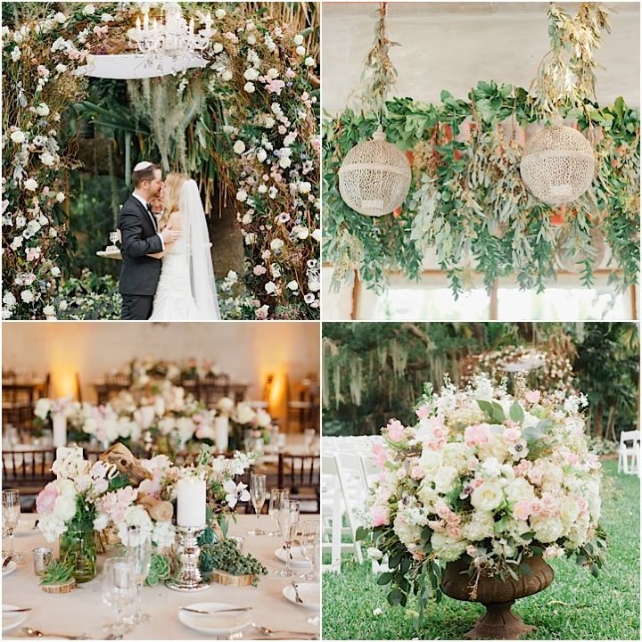 Botanical Gardens Wedding: Rustic Chic Miami Wedding At Kampong Botanical Gardens