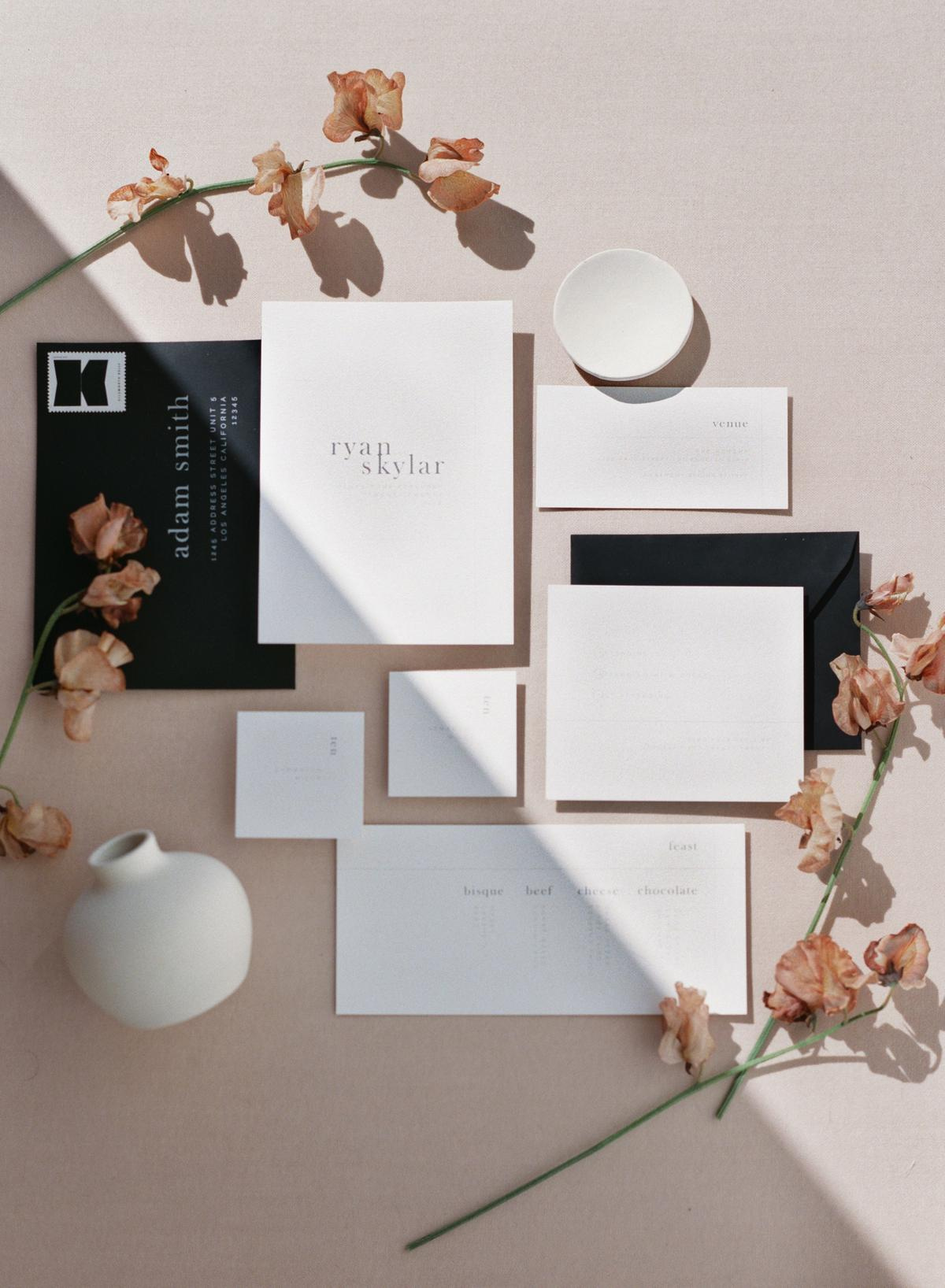 The Ultimate Neutral Toned Modern Wedding Inspiration at The Revery