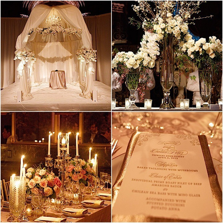 Luxurious New York City Wedding At Cipriani