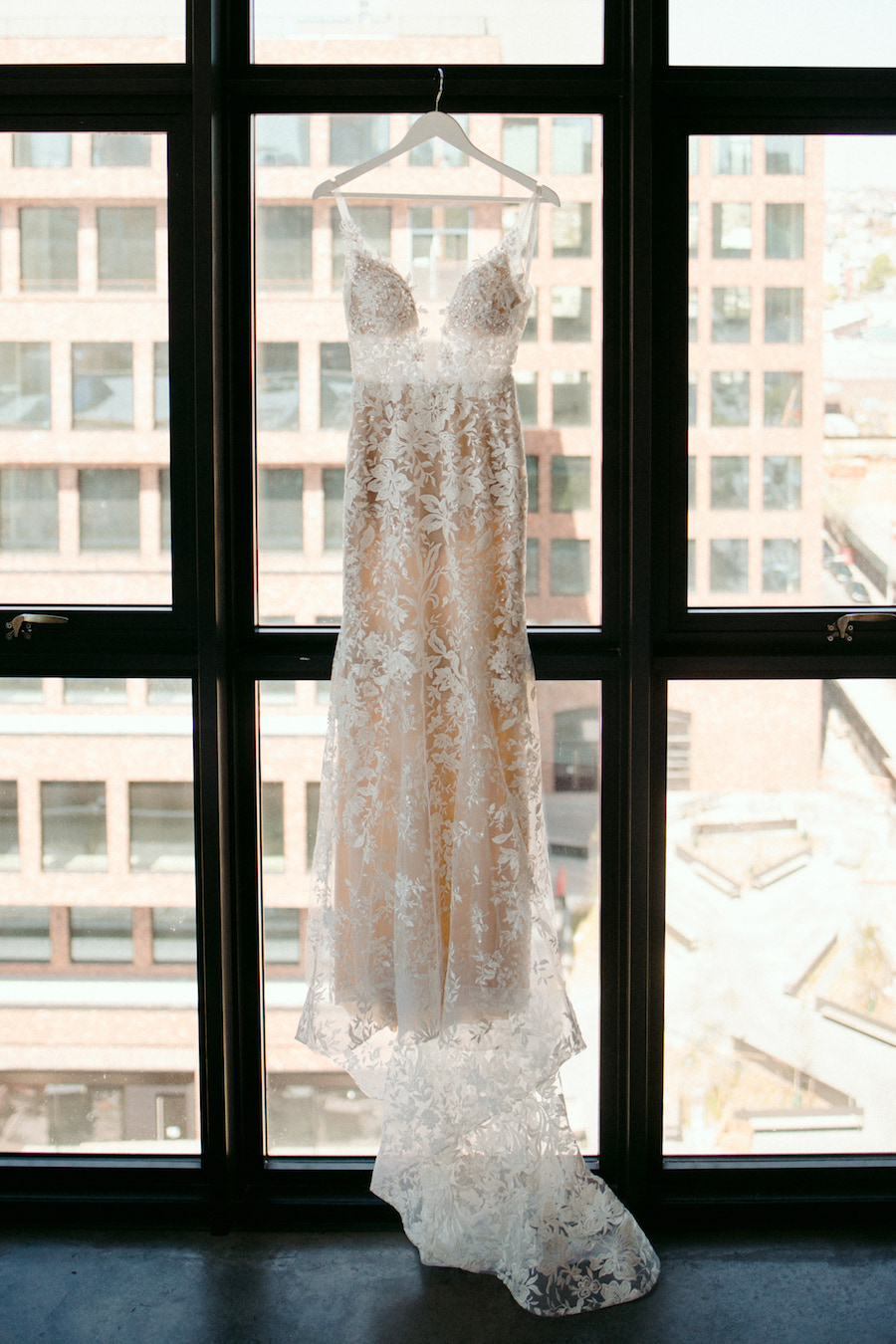 This Urban Chic New York Wedding at The Wythe Hotel is a Modern Romance