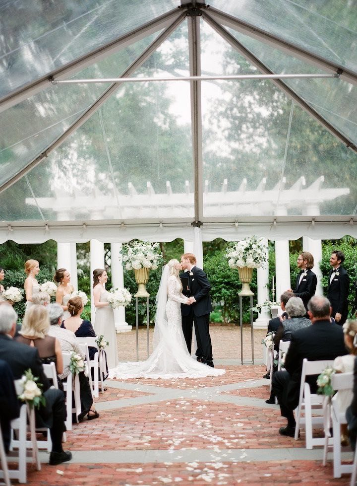 This North Carolina Wedding Is All About The Berta Gown