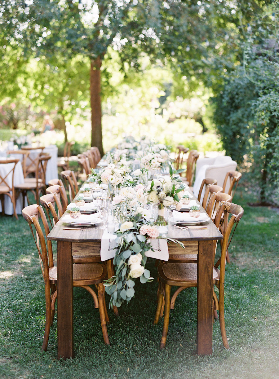 Chic Romance-Filled Outdoor Wedding at Healdsburg Country ...