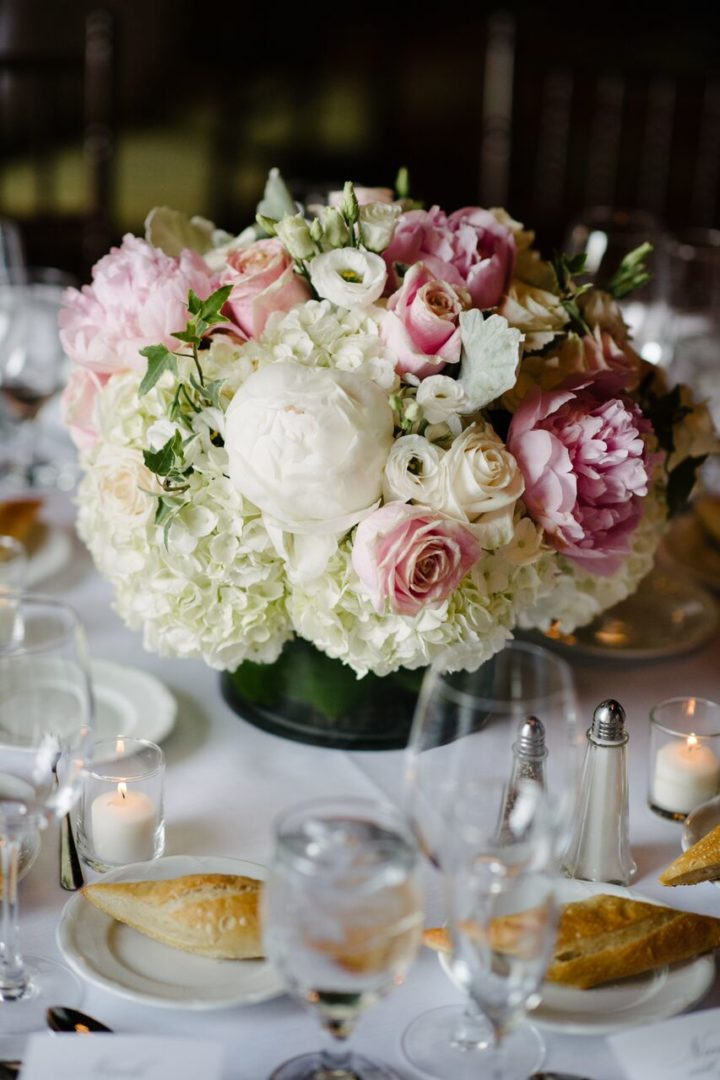 Elegant Pink and White New York Wedding from Brian Hatton ...
