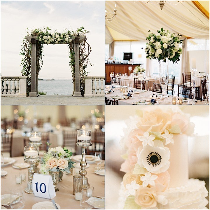 Chic Rhode Island Wedding With Celebrity Guests